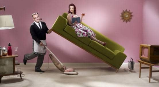 Заставить мужа работать по дому