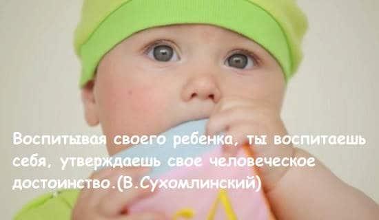 Sukhomliskiy o vospitanii deteyy